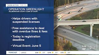 Operation Greenlight can help those with suspended licenses
