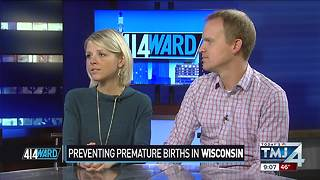 Wisconsin gets a 'C' on premature birth report card - Video
