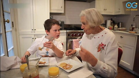 Kid Chef Surprises Godmother With Her Potato Pancake Recipe