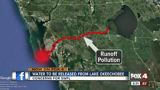 Officials begin releasing water from Lake Okeechobee - Video