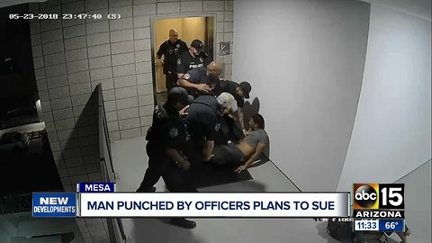 Man files $2 million claim against Mesa PD over use of force