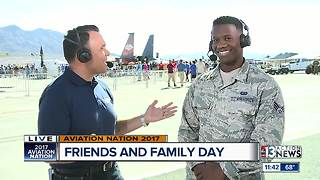 Interview with Airman Mychal Fox at Nellis AFB - Video