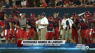 Ex-assistant files federal lawsuit against Rich Rodriguez, University of Arizona