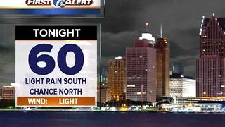 Rain chance tonight - Video