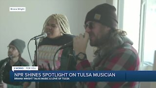NPR shines spotlight on Tulsa musician