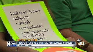 Tempers flare as short-term rental rules approved