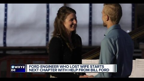 Ford engineer who lost wife starts next chapter with help from Bill Ford