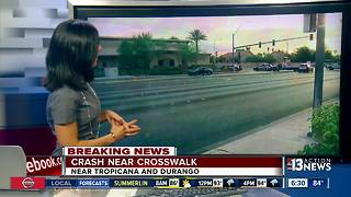 2 teens hit near Tropicana and Durango Drive - Video