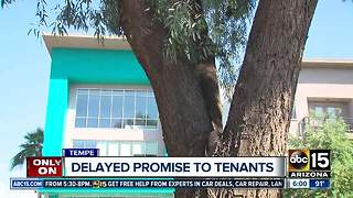 Residents at Tempe Apartment complex want money thats owed - Video