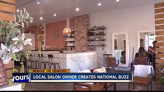 Local salon owner creates national buzz