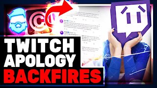 Twitch Apology Backfires Over DMCA Madness!