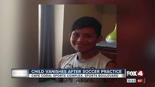 Boy missing from Cape Coral Sports Complex - Video