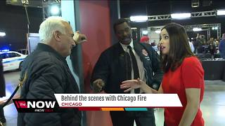Behind the scenes with Chicago Fire - Video
