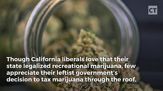 Cali Libs Love Legal Weed, But Hate Sales Tax - Video