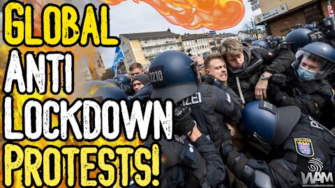 GLOBAL Anti-Lockdown Protests RAGE As Media Stays SILENT! - Worldwide Rally For Freedom