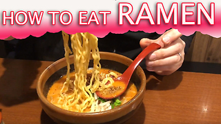 SLURPING CULTURE IN JAPAN  - Video
