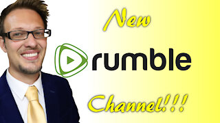 New Rumble Channel