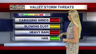 More storms possible Sunday