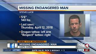 Cape Coral Police searching for missing man - Video