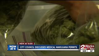 Tulsa City Council discusses medical marijuana permits