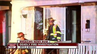 One dead in house fire on south side - Video