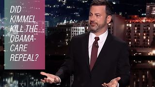 Jimmy Kimmel may have just killed it for Trump - Video