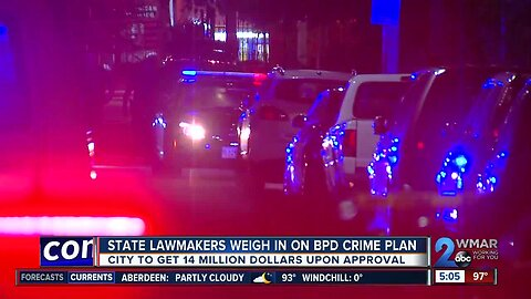 State lawmakers weigh in on BPD crime plan