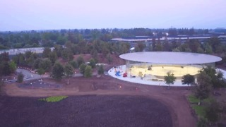 Drone Footage Shows Latest Progress at New Apple Campus - Video
