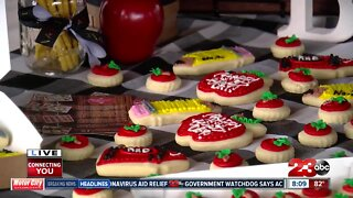 Local woman helps students celebrate start of school year with cookies