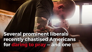 Christian Actress Unloads On Anti-Prayer Liberals - Video