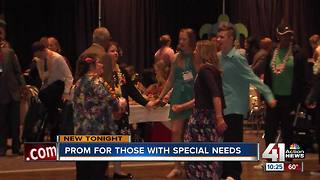 Prom for those with special needs - Video