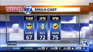 Thursday forecast: Warmest day of the week - Video