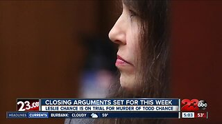 Closing Arguments for Chance trial set to begin