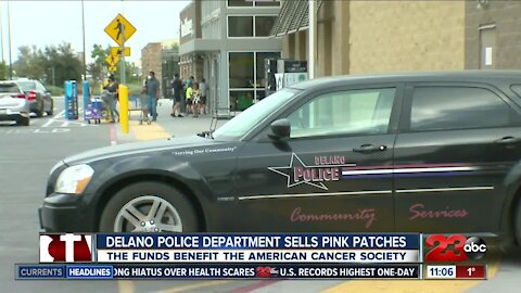 Delano Police Department raises money for the American Cancer Society