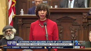 Mayor Pugh delivers State of the City address