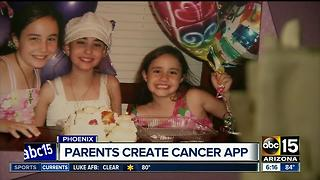The Purple Society: Parents launch app after daughter's brain cancer death - Video