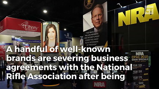 These Companies Cut Ties With NRA… Time to Boycott - Video