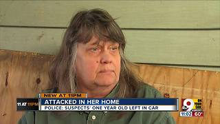 Burglary victim says suspect is her granddaughter