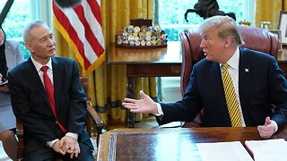 U.S. And China Sign Preliminary Trade Deal