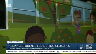 Keeping students fed during school closures