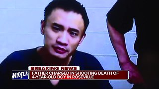 4-year-old Roseville boy shot by another child, father arrested
