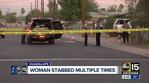 MCSO: Woman stabbed multiple times in Guadalupe