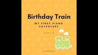 Piano Adventures Lesson Book A - Birthday Train