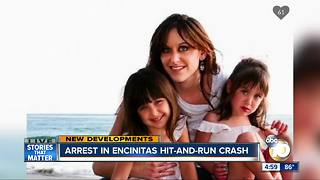 Arrest in Encinitas hit-and-run crash - Video