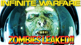 Zombies leaked in Infinite Warfare! - Video