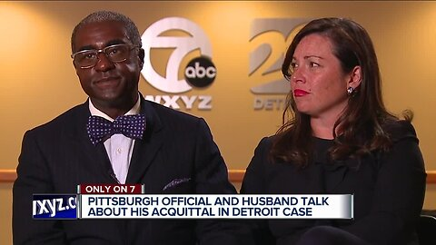 Husband of Pittsburgh official arrested in Detroit acquitted of misdemeanor charges