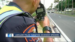 Police cracking down on excessive speeding at troubled intersection - Video