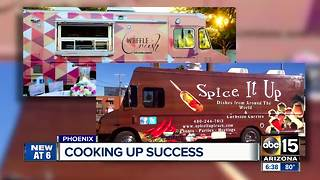 Valley company builds food trucks for customers so they can focus on the recipes - Video