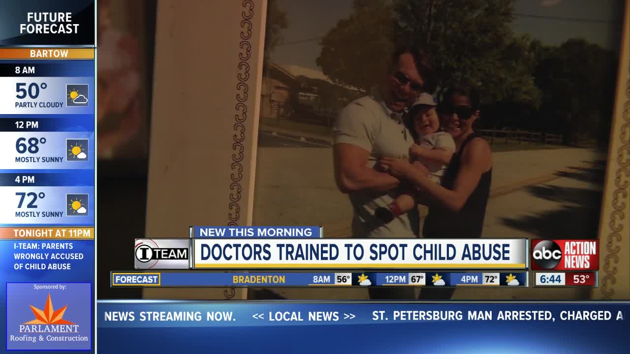 Doctors trained to spot child abuse