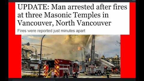 What Are the Odds That On 3/30 An Arsonist Would Torch Three Freemason Lodges in Vancouver?